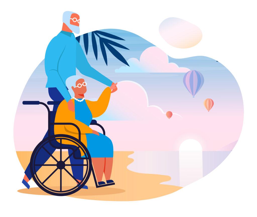 il ferragosto dei caregivers nell'anno del COVID-19