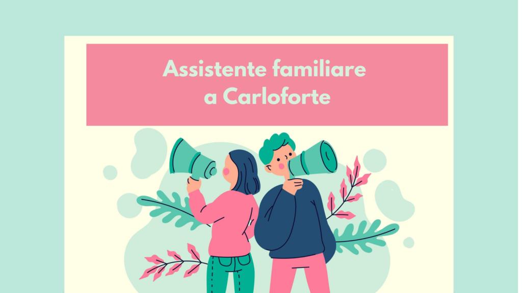 Cerchiamo un' assistente familiare convivente a Carloforte