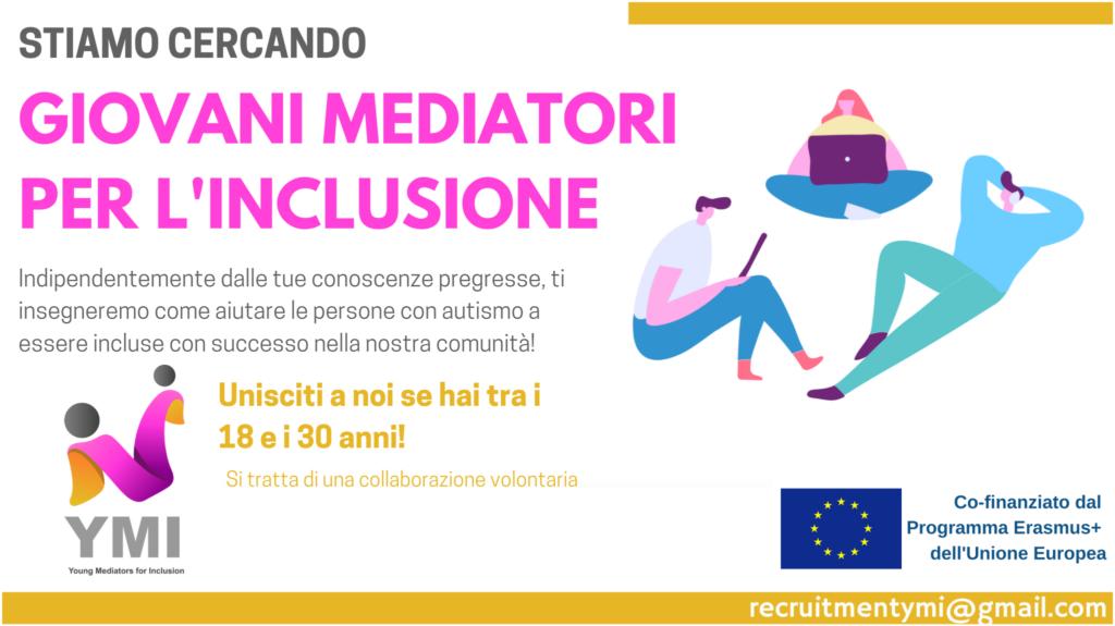 Scopri come diventare Giovane Mediatore per l'Inclusione.