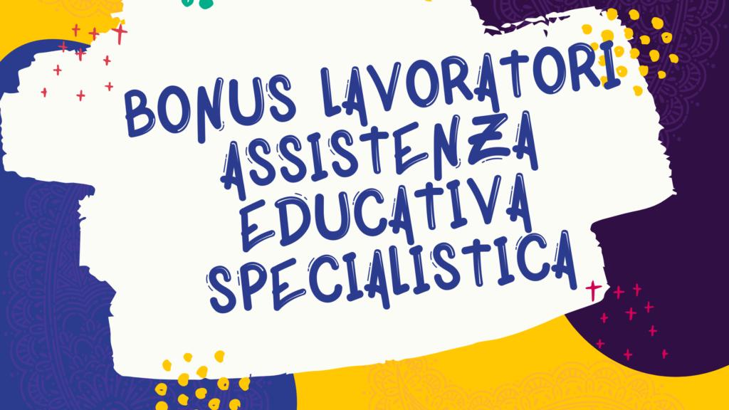 Bonus lavoratori assistenza educativa specialistica del Comune di Cagliair